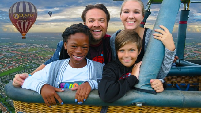 Fourie Family & Orlando Balloon Rides