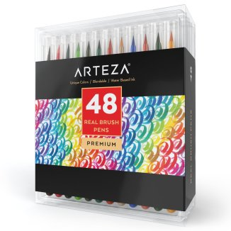 Arteza-real_brush_pen_set_48pcs-fouriefamcam